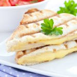 Grilled cheese sandwich (panini)